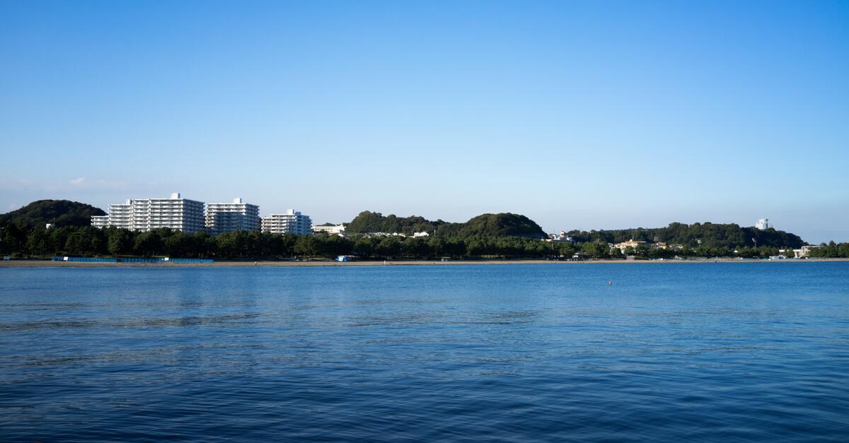 横浜市金沢区 海の公園